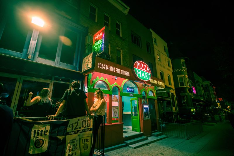 Adams Morgan is a well known neighborhood famous for its many bars, restaurants and nightclubs.