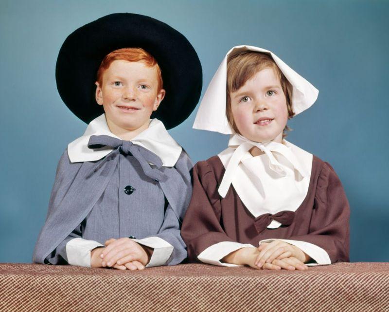 children pilgrim costumes