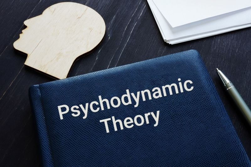 psychology textbook that says Psychodynamic theory