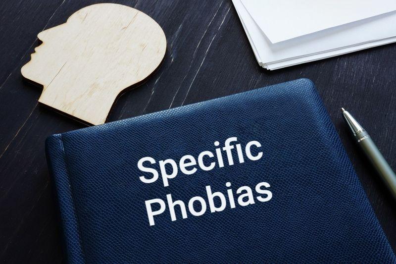 psychology text concept specific phobias