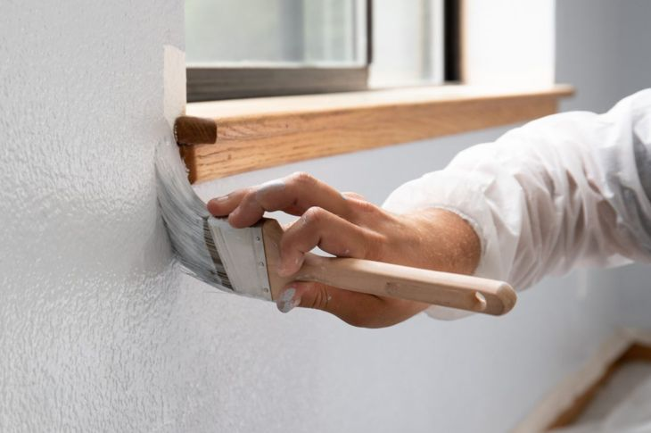 mildew primer paint wall