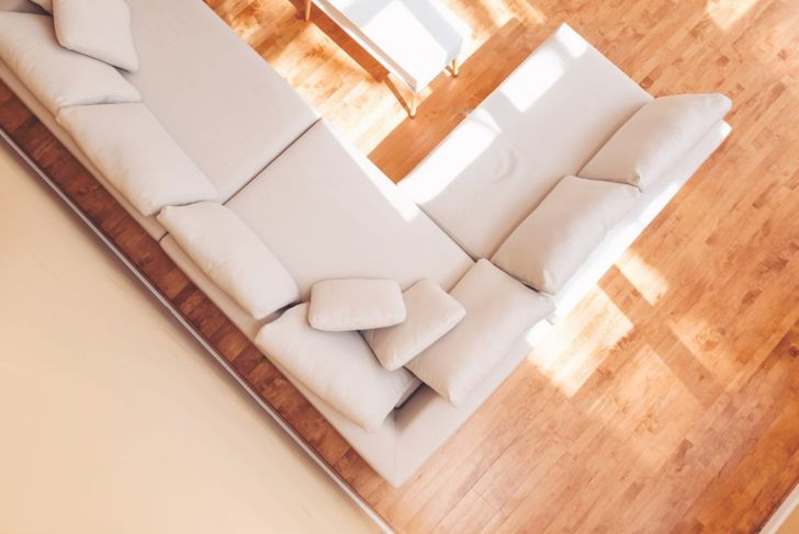 spacious room sectionals