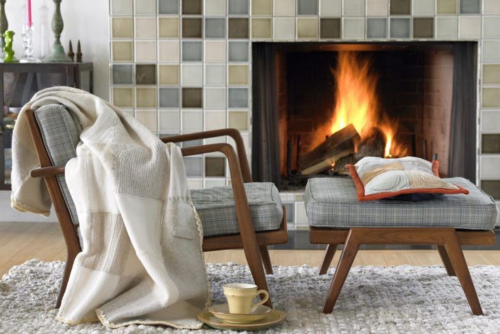 Hygge means warm and cozy home living.