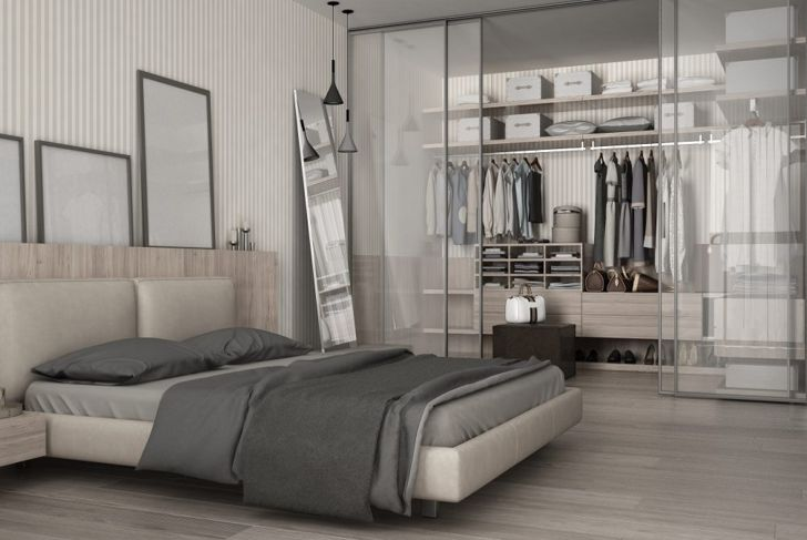 Decorate a closet you can be proud to display.