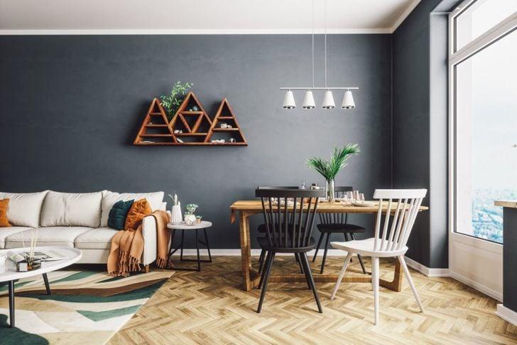 Gray room paint