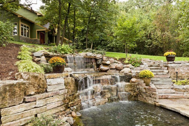 Landscaping ideas garden water feature