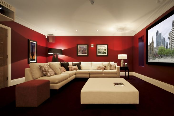 Red room paint