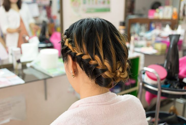 Formal or casual, you will be ready for anything with a braided crown.