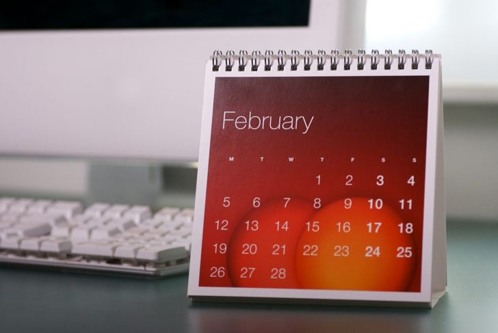 February second month of the year