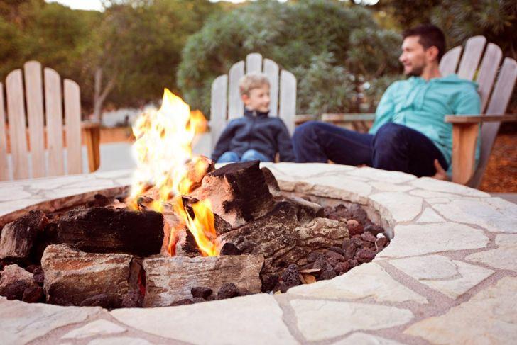 safety fire pit
