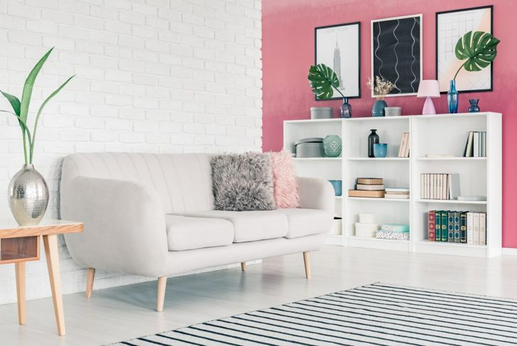 Pink room paint