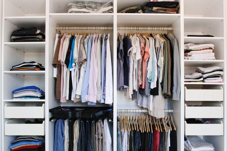 Closet with built-ins