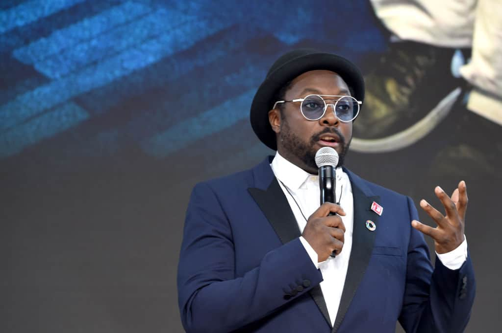 NEW YORK, NY - SEPTEMBER 20: Founder and CEO of i.am+ will.i.am speaks speaks at Goalkeepers 2017, at Jazz at Lincoln Center on September 20, 2017 in New York City. Goalkeepers is organized by the Bill & Melinda Gates Foundation to highlight progress against global poverty and disease, showcase solutions to help advance the Sustainable Development Goals (or Global Goals) and foster bold leadership to help accelerate the path to a more prosperous, healthy and just future.