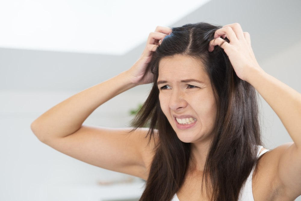 itchiness head lice