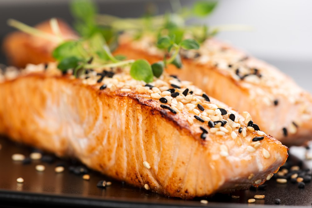 salmon for cholesterol