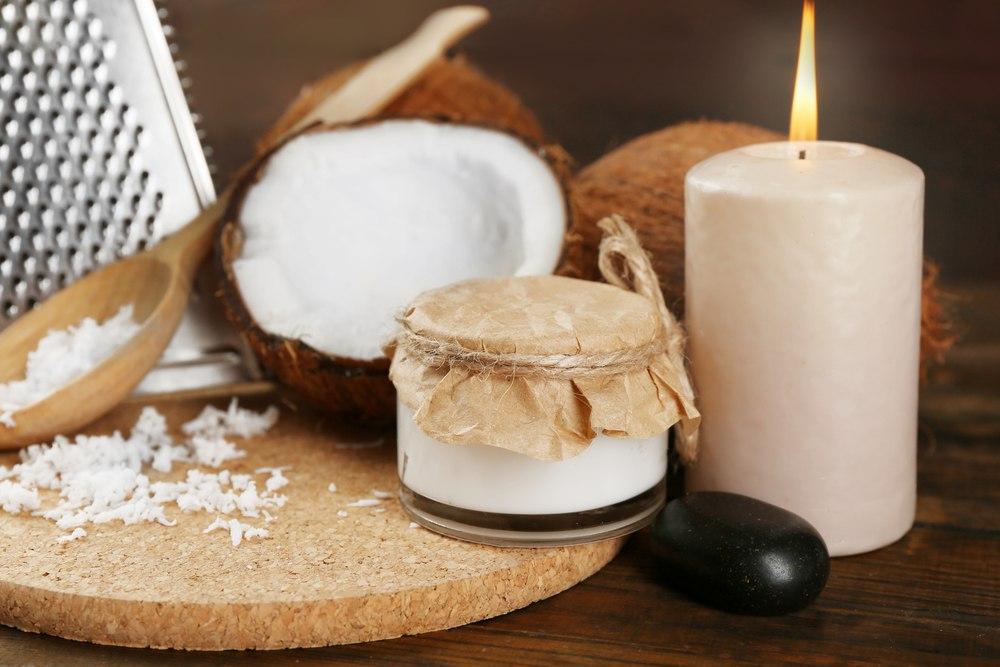 scrubs properties of coconut oil