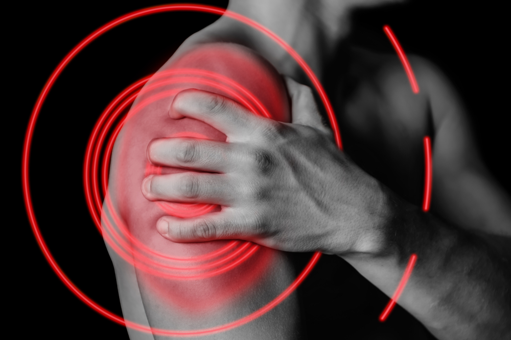 tenderness symptoms of bursitis