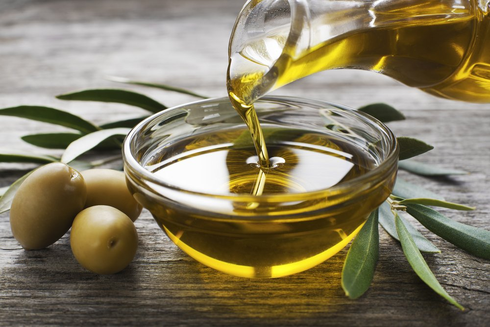 olive oil sagging skin