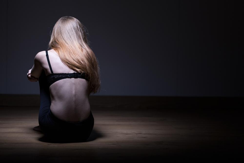 anorexia skin