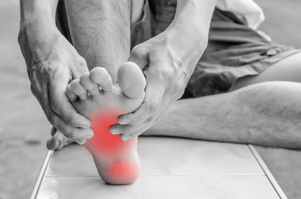 feet rheumatoid arthritis