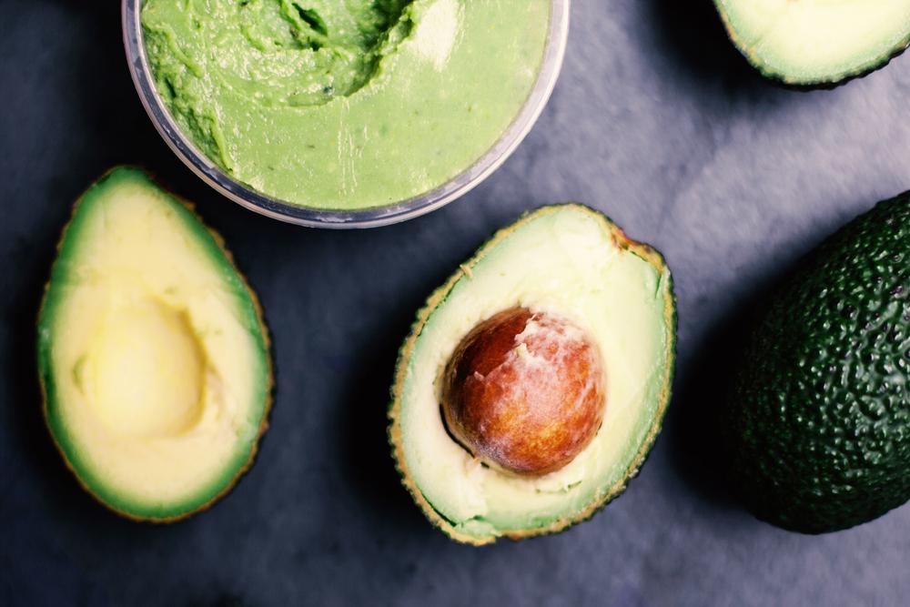 avocado Dry hair