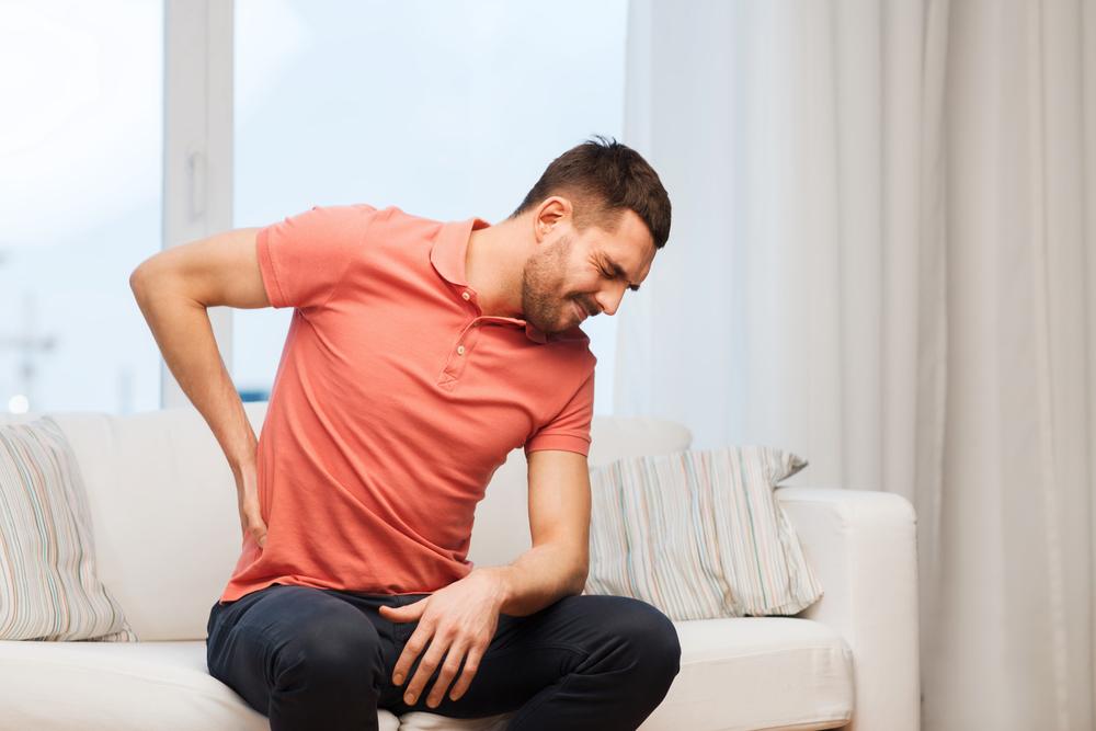Osteomyelitis back pain