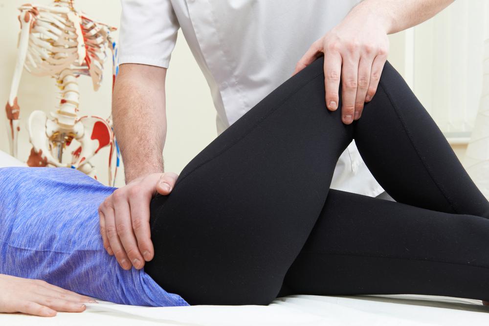 limping hip flexor strain