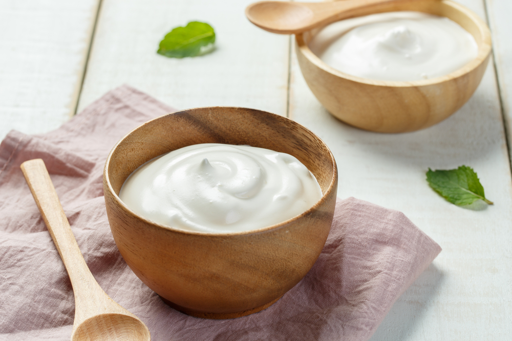 yogurt foods for healthy skin