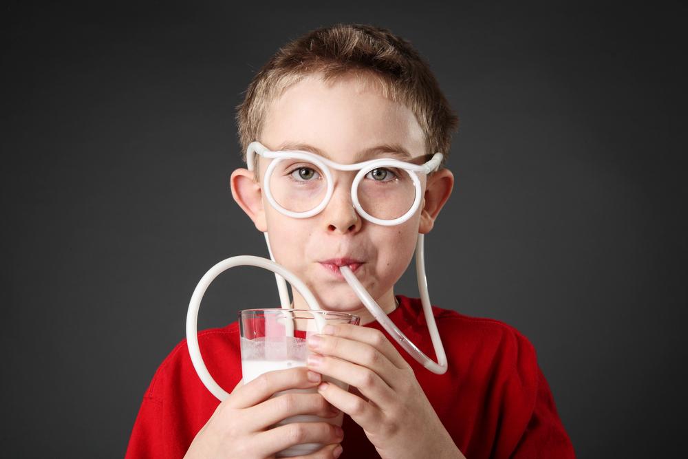 vision impairment Almond milk