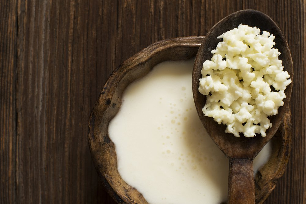 nutrients benefits of kefir