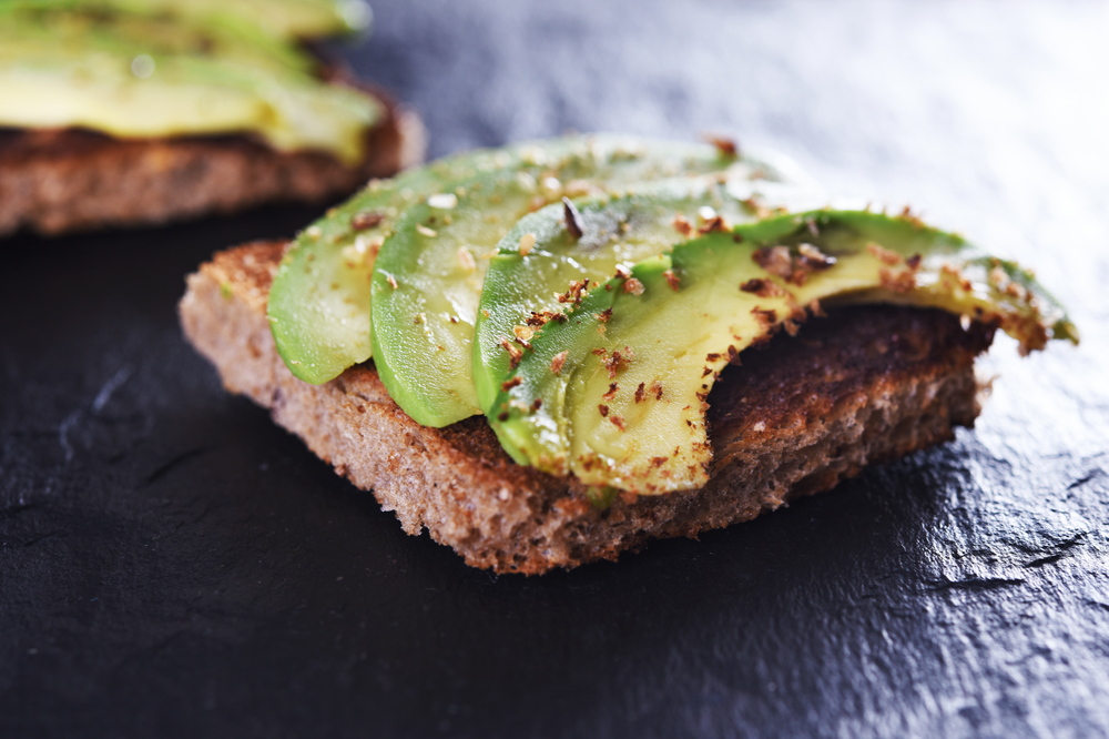 avocado toast healthy snacks for adults