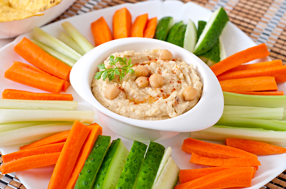 hummus healthy snacks for adults