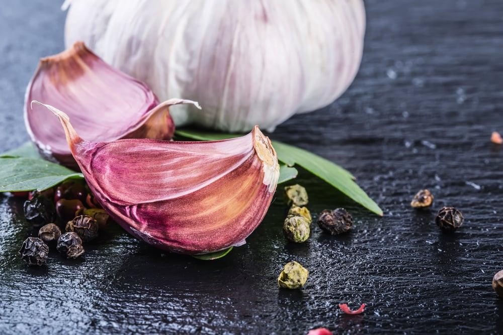 detox garlic