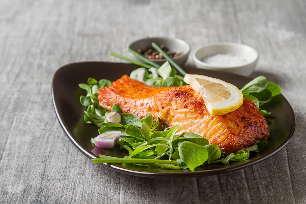 salmon high in calcium