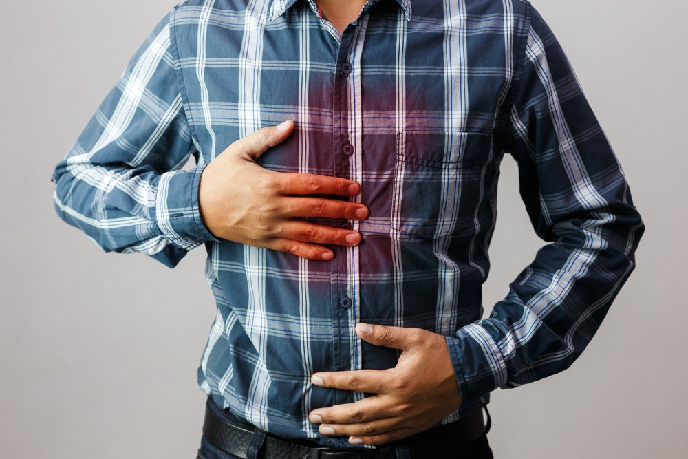 indigestion lead poisoning
