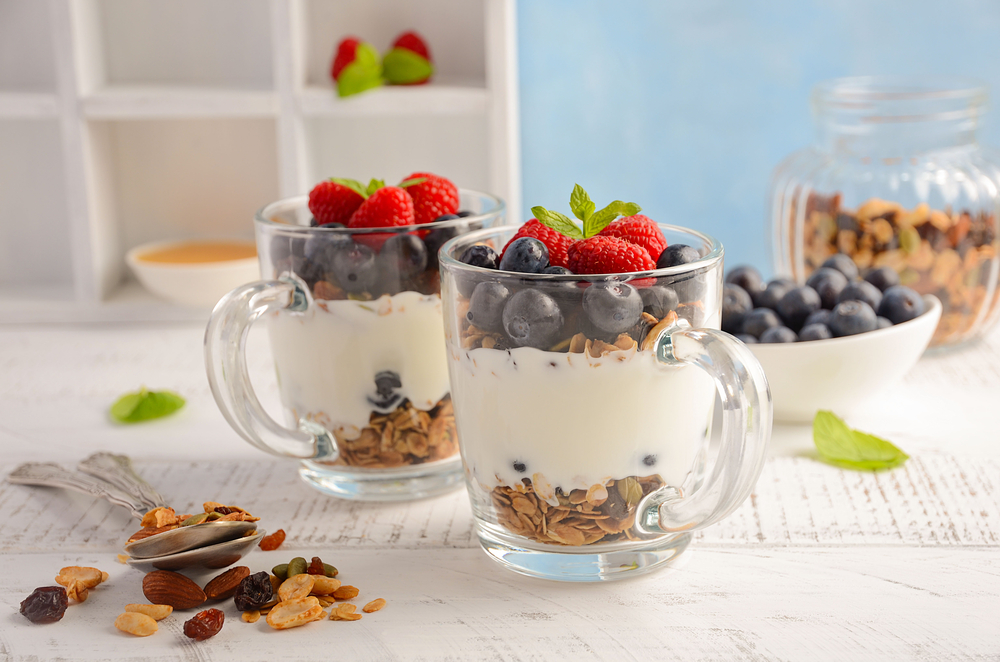 yogurt healthy snacks for adults