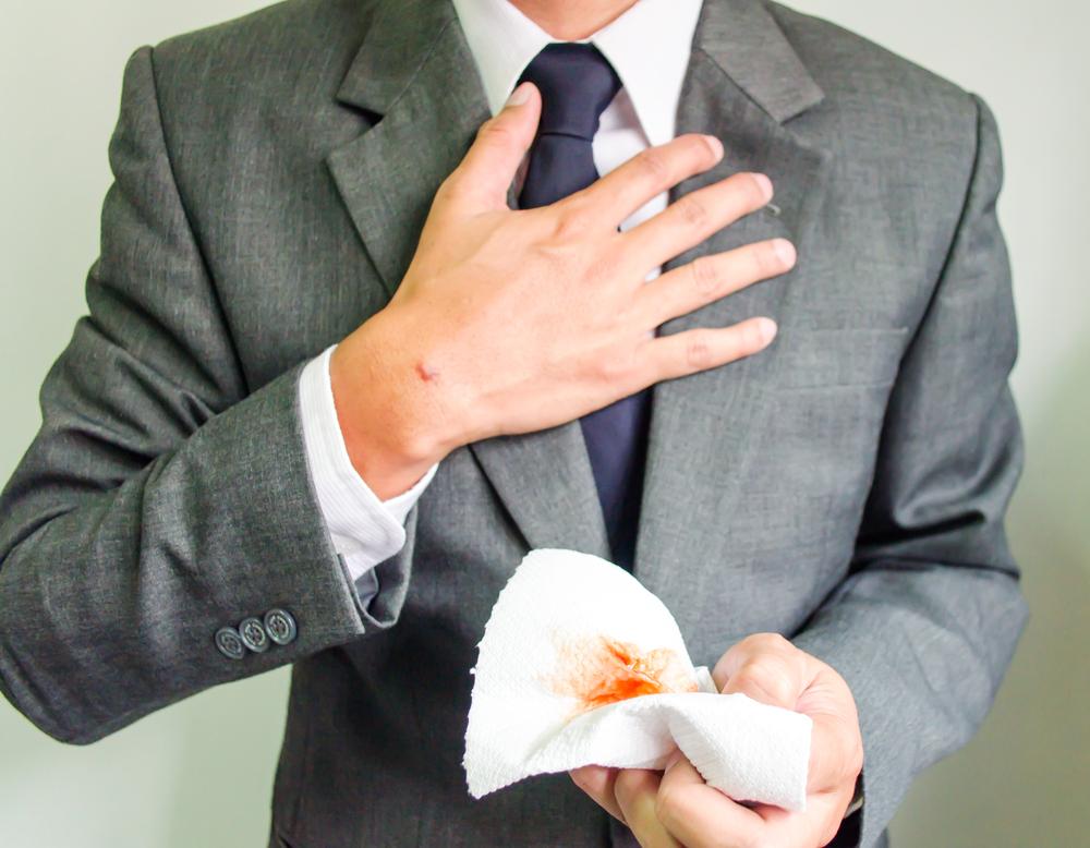 mucus blastomycosis