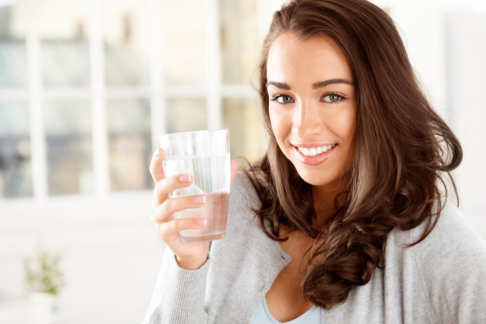 skin benefits of drinking water