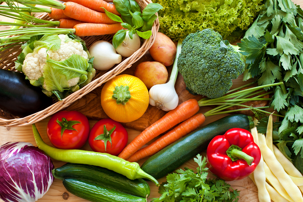 vegetables low in sodium