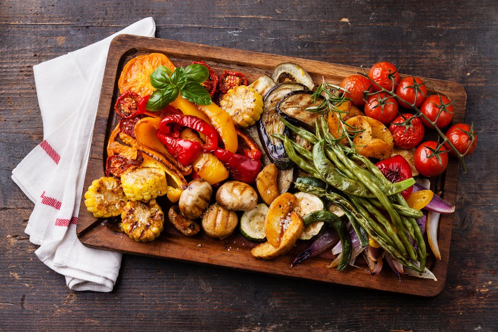 grilled veggies low-carb