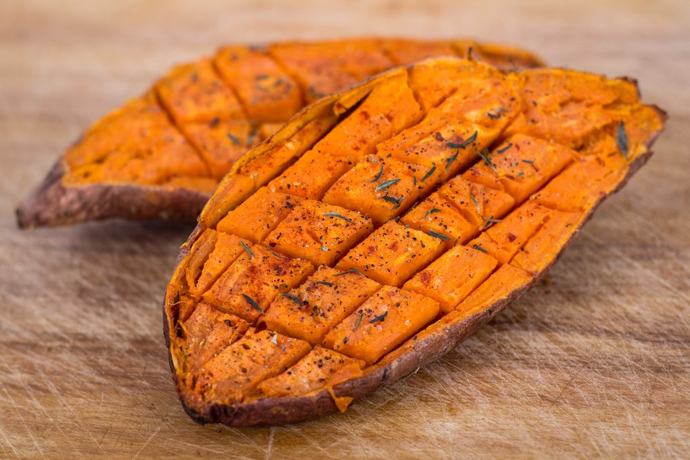 vitamins sweet potatoes