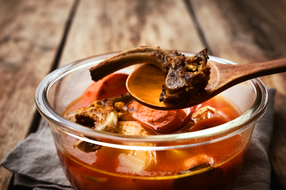 nutrients of bone broth