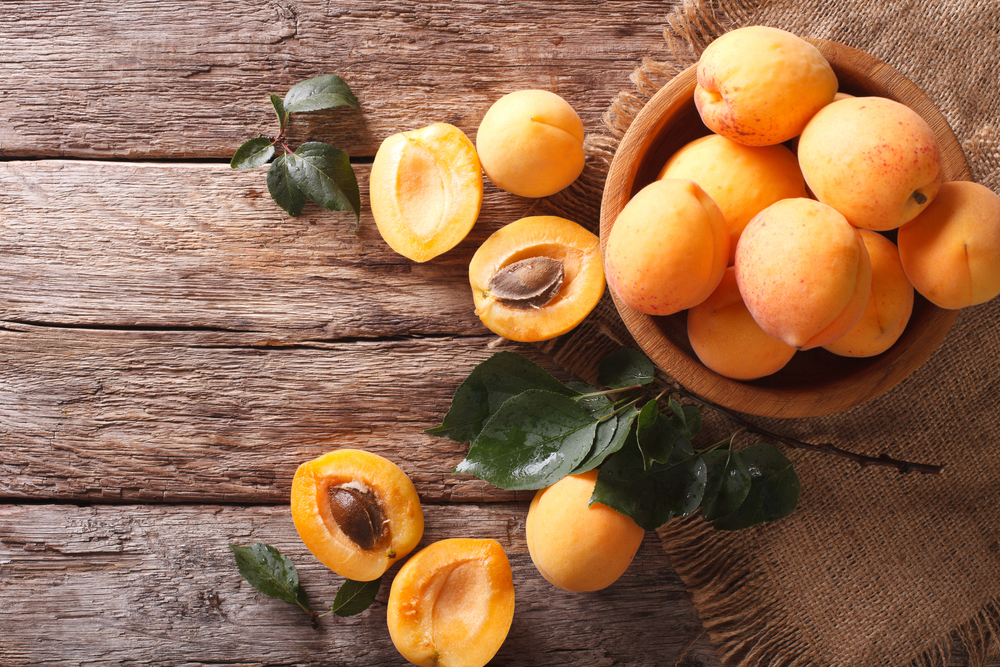 apricots Low carb foods