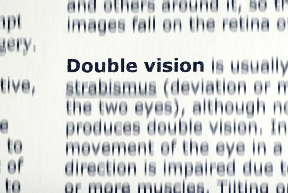 double vision cataract