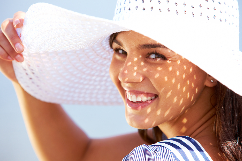 hats UV Melasma