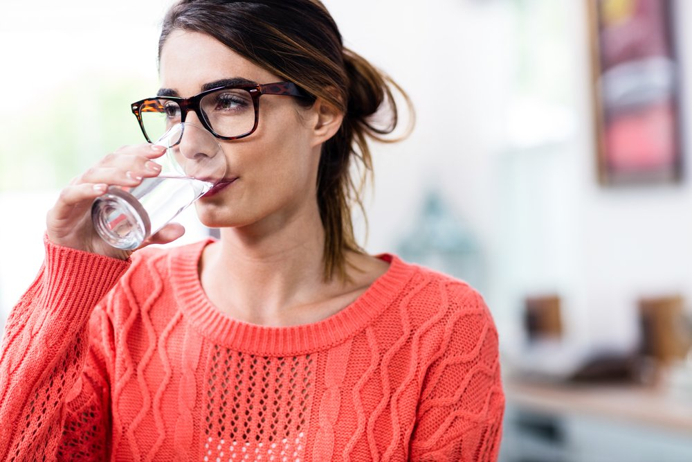 cramps benefits of drinking water