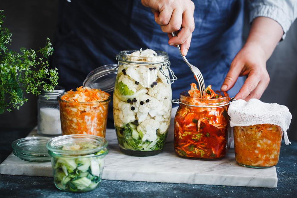 probiotic-rich food