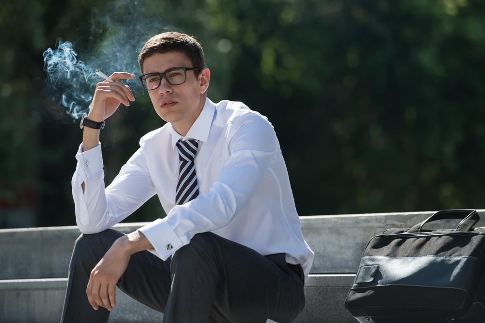hot flashes smoking