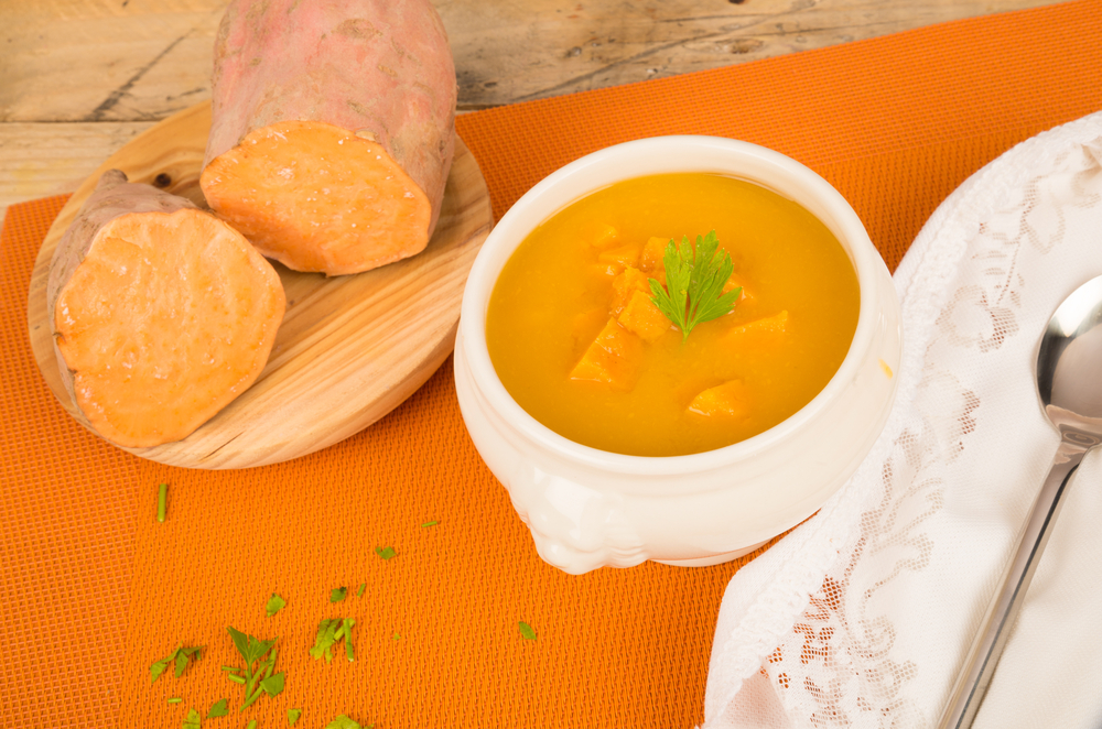 ginger soup thanksgiving meal