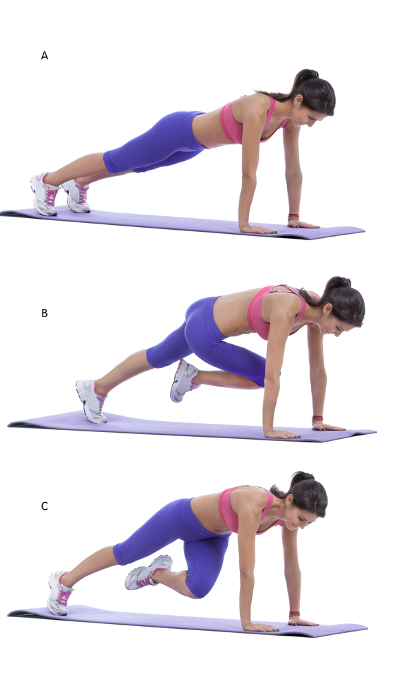 plank exercises for women